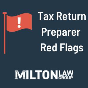 Tax Return Preparer Fraud